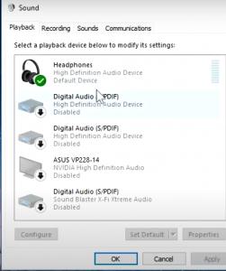 Step 3- To boost Headphones bass on Windows