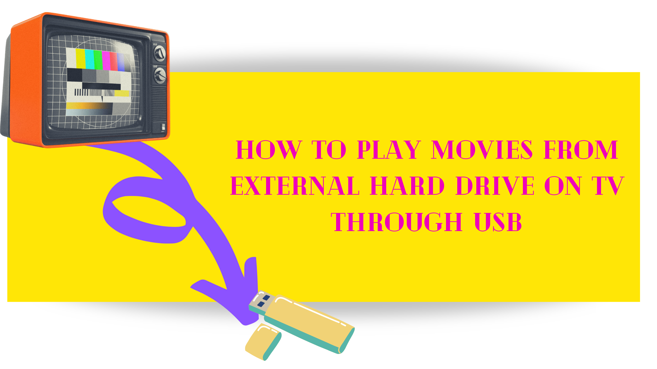 How to Play Movies from External Hard Drive on TV through USB